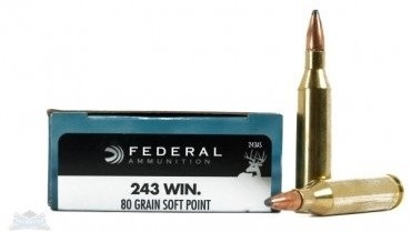 Federal .243 Rifle Ammo