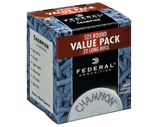 Federal .22 525 Value Pack