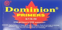 Dominion Pistol & Rifle Primers