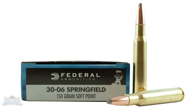 Federal 30-06 Springfield Rifle Ammo