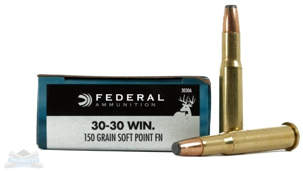 Federal 30-30 Win Rifle Ammo