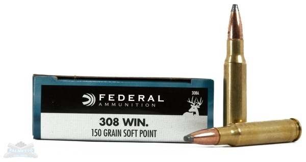 Federal 308 Win. Rifle Ammo