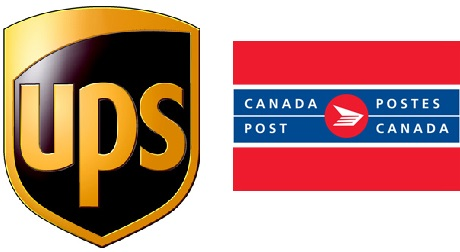 We Ship! UPS & Canada Post